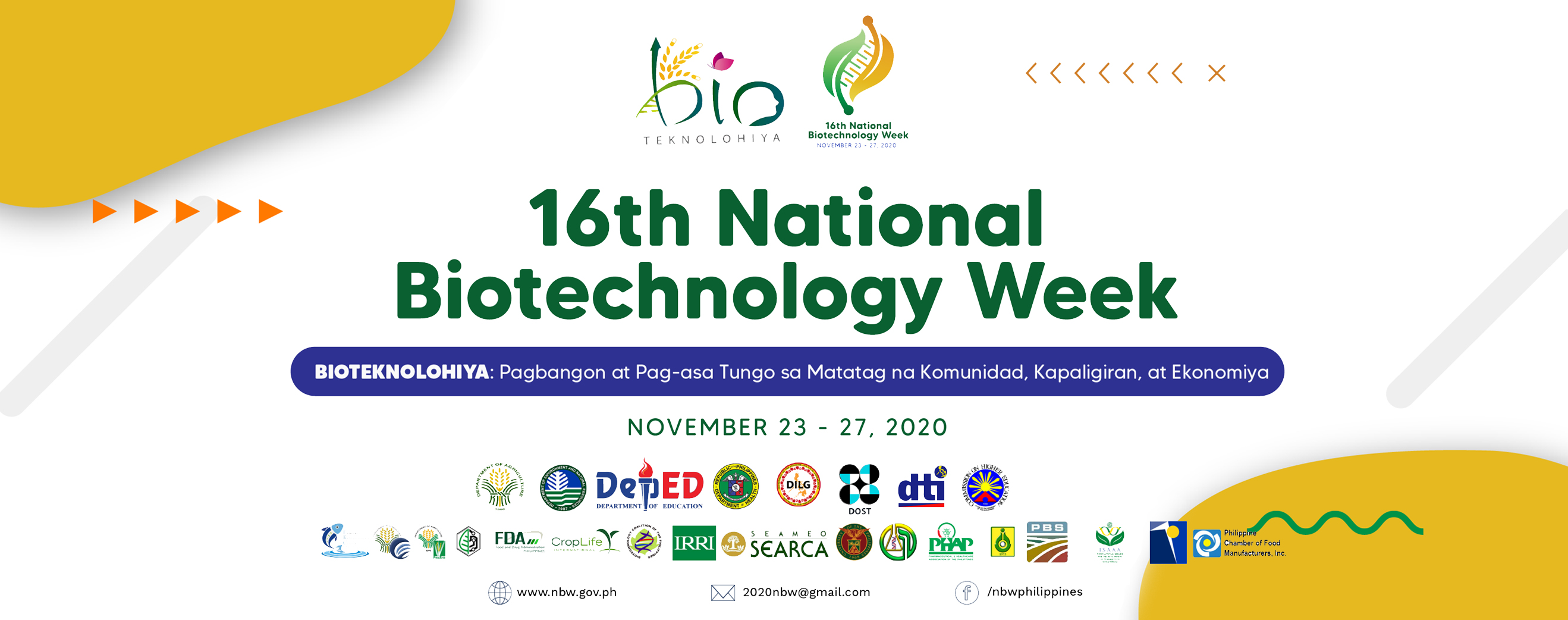 16th National Biotechnology Week