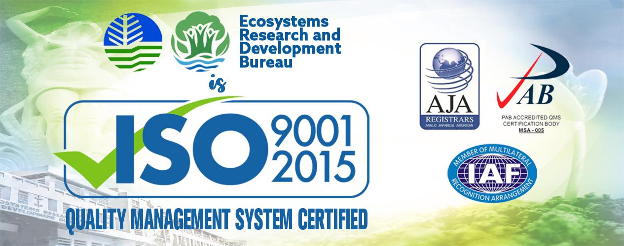 ERDB ISO 9001 2005